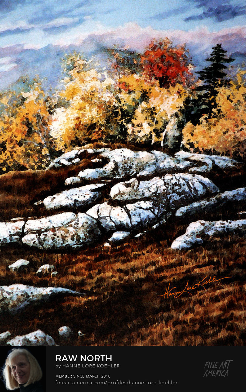 Canadian Autumn Painting