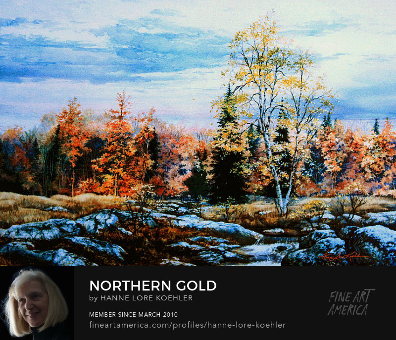 Northern Ontario Autumn Landscape