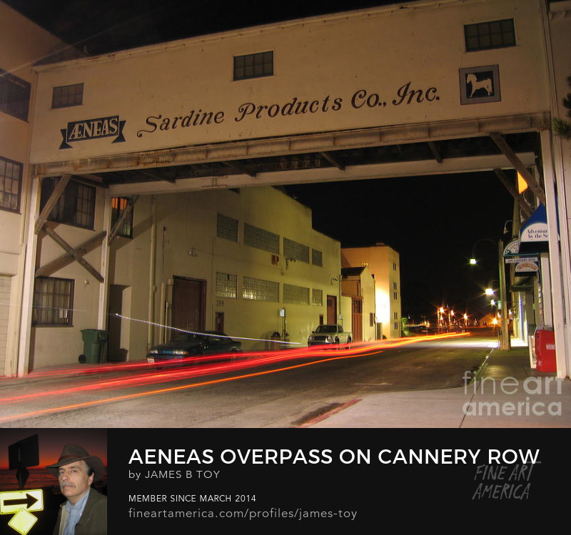 Aeneas Overpass on Cannery Row