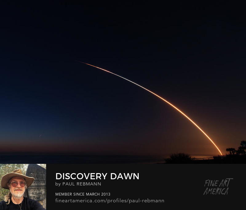 View online purchase options for Discovery Dawn by Paul Rebmann