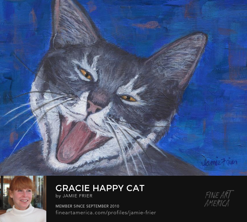 Happy Cat by Jamie Frier