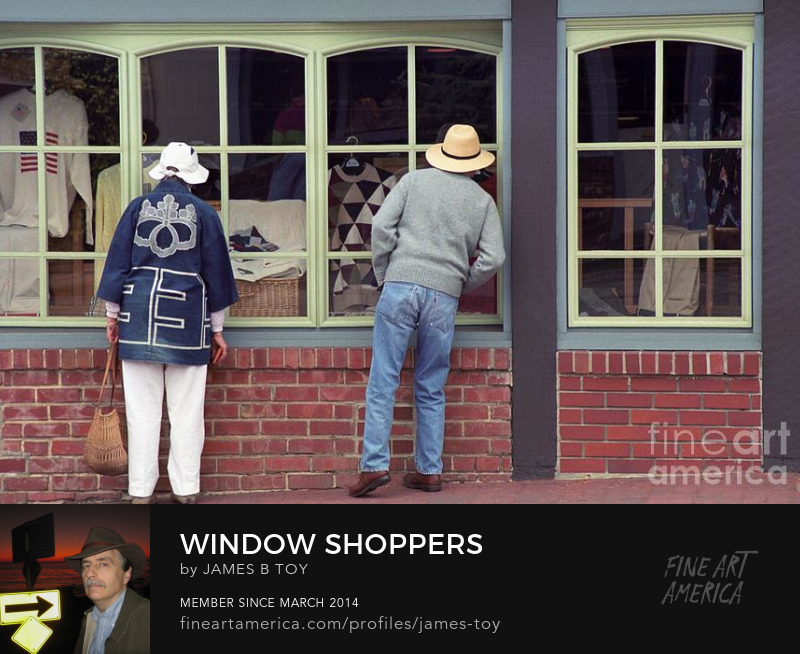 Carmel Window Shoppers