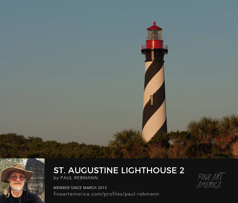 View online purchase options for St. Augustine Lighthouse #2 by Paul Rebmann
