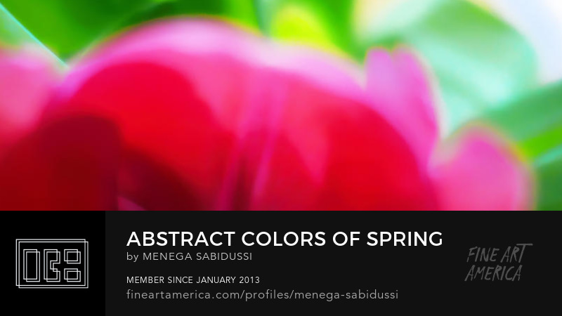 abstract colors spring soft blurry pink green menega sabidussi