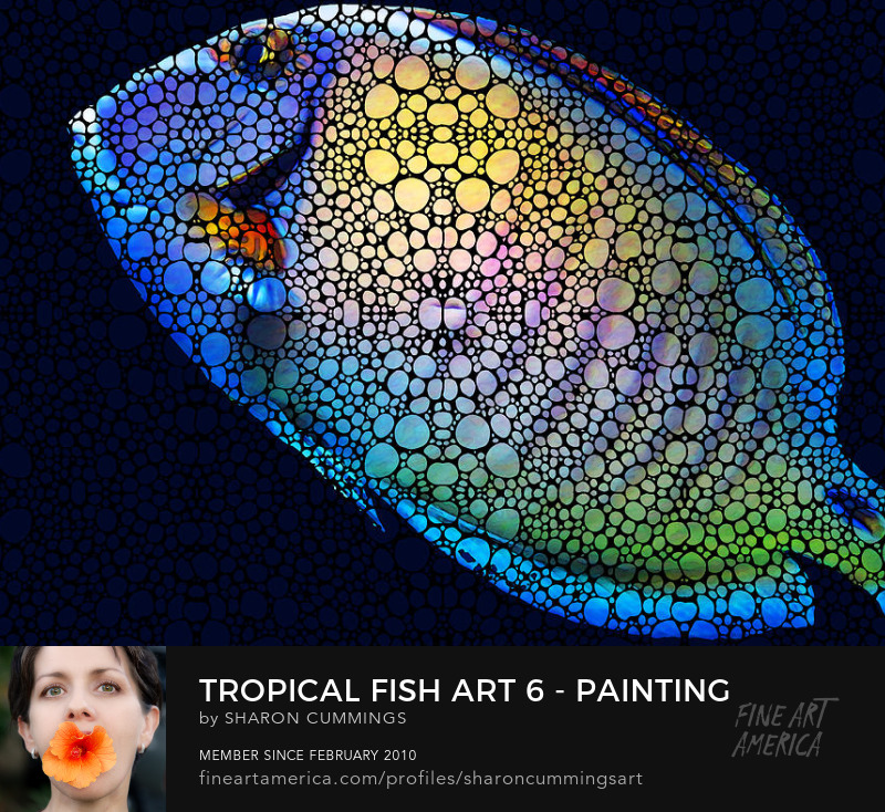 Tropical Fish Art Prints For Sale
