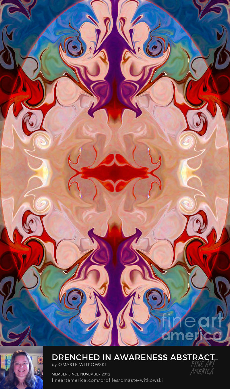 Drenched In Awareness Abstract Healing Artwork Art Prints