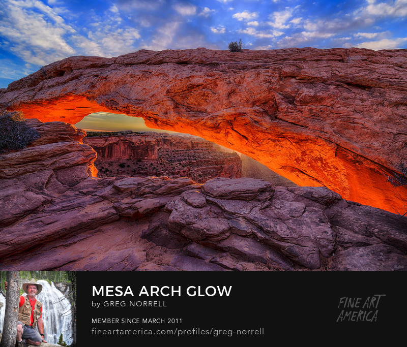 Mesa Arch Glow in Canyonlands National Park