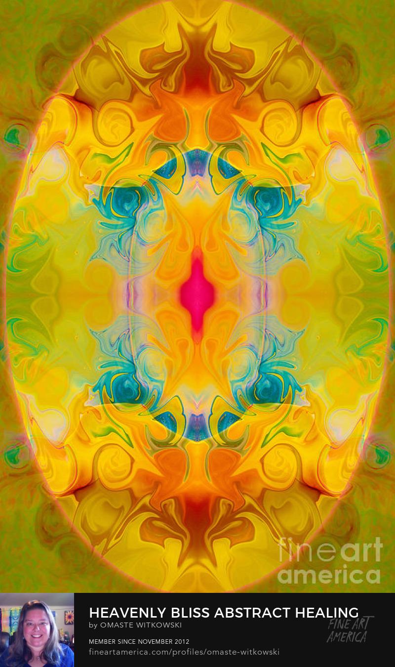 Heavenly Bliss Abstract Healing Artwork Art Prints