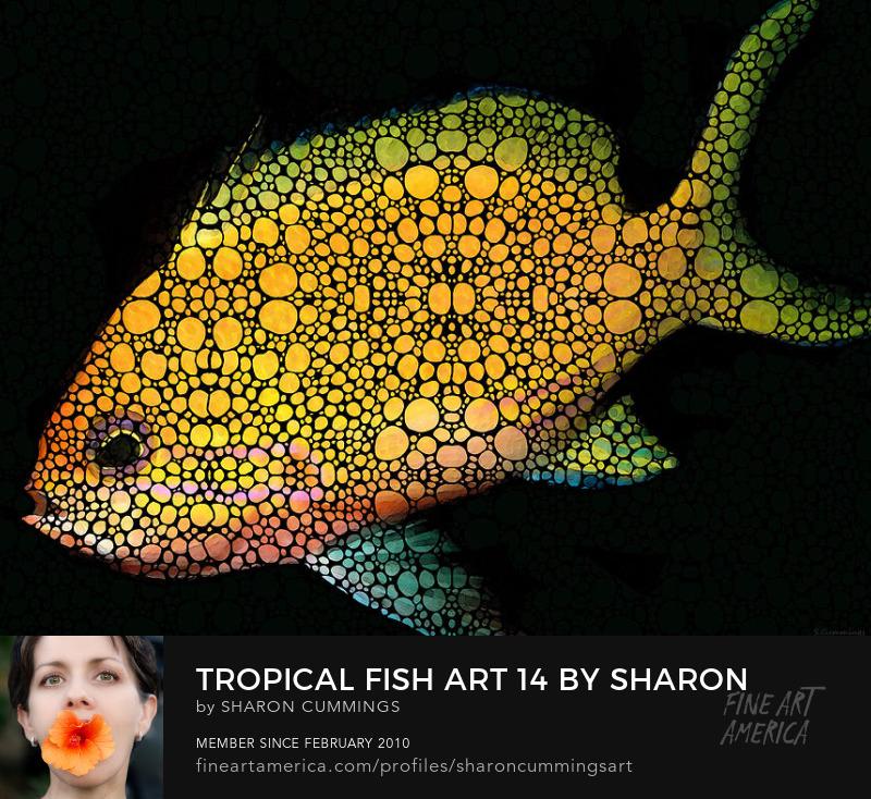 Fish art Prints For Sale Online Beach Art