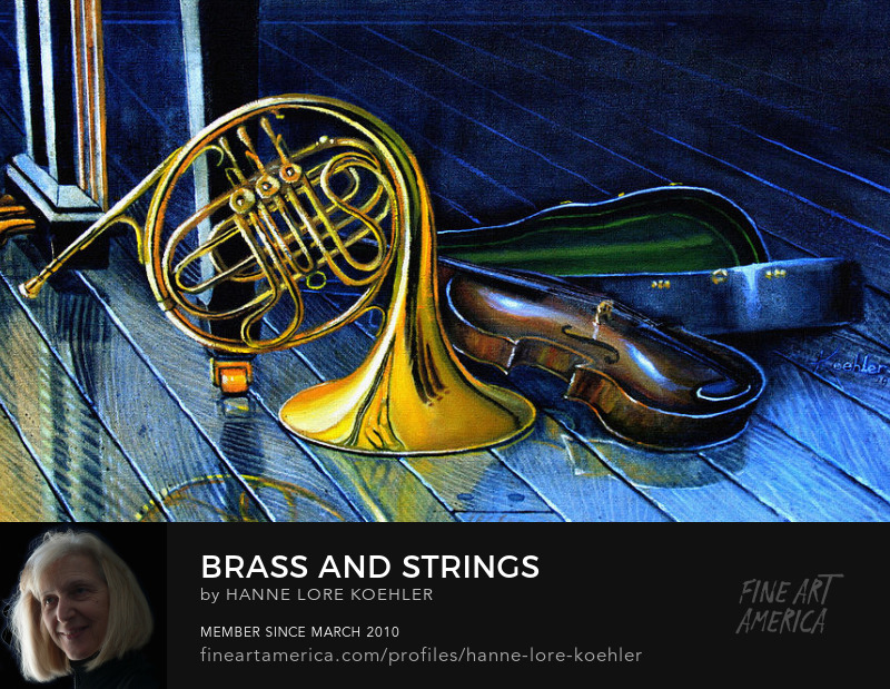 Brass and Strings Painting Art Prints