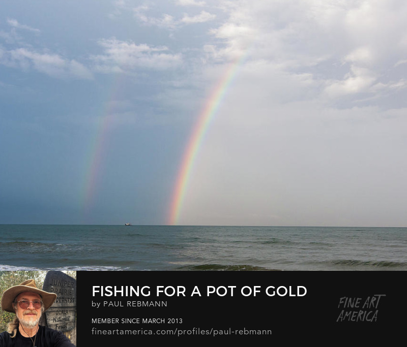 View online purchase options for Fishing for a Pot of Gold by Paul Rebmann