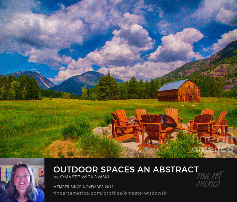 Outdoor Spaces An Abstract Landscape