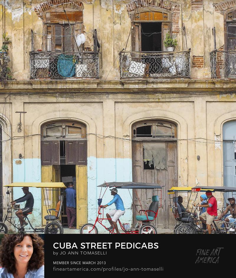 Buy Havana Pedicab Street Image Art Online