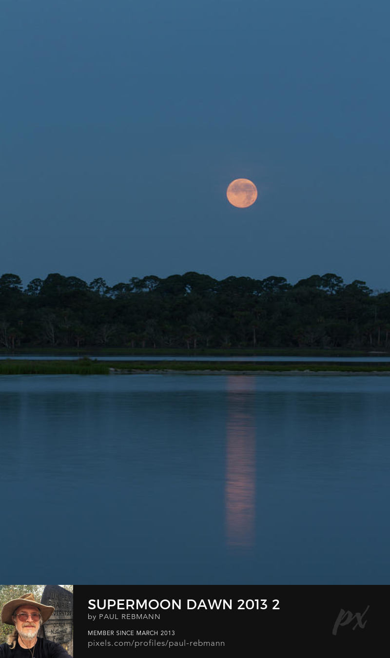 View online purchase options for Supermoon Dawn 2013 #2 by Paul Rebmann