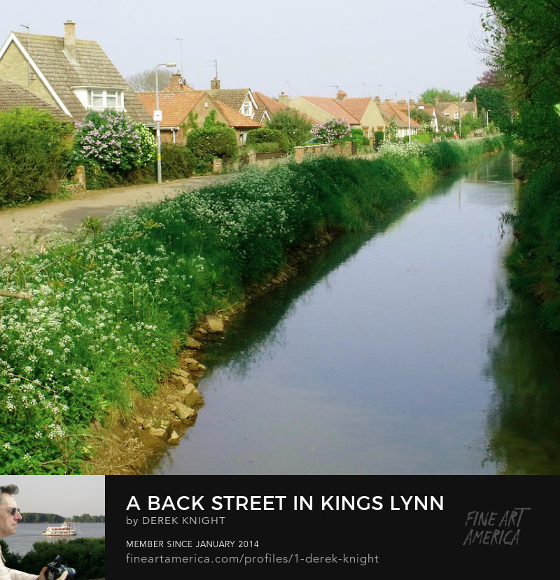 Buy Prints of King's Lynn in Rural Norfolk, England by Derek Knight