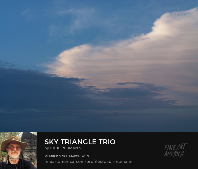 View online purchase options for Sky Triangle Trio by Paul Rebmann