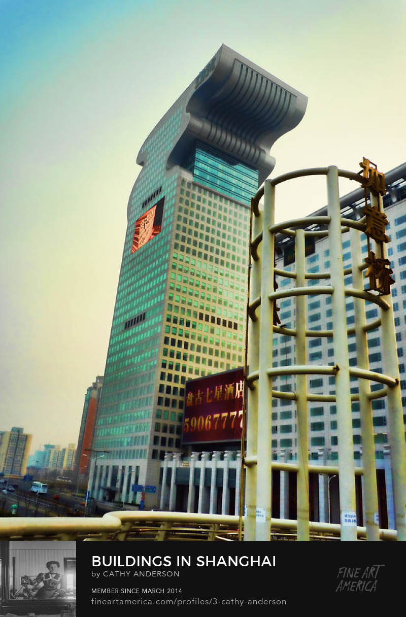 buildings in shanghai