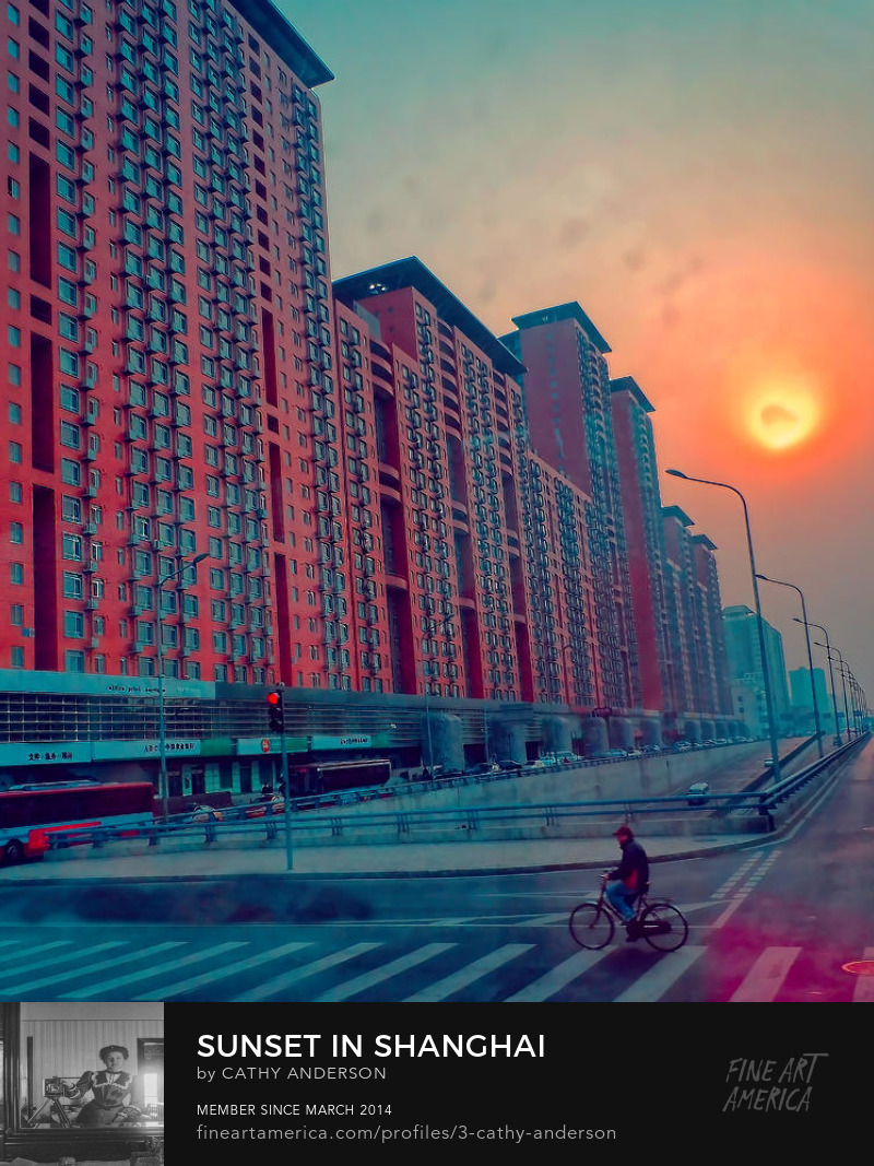 sunrise in china