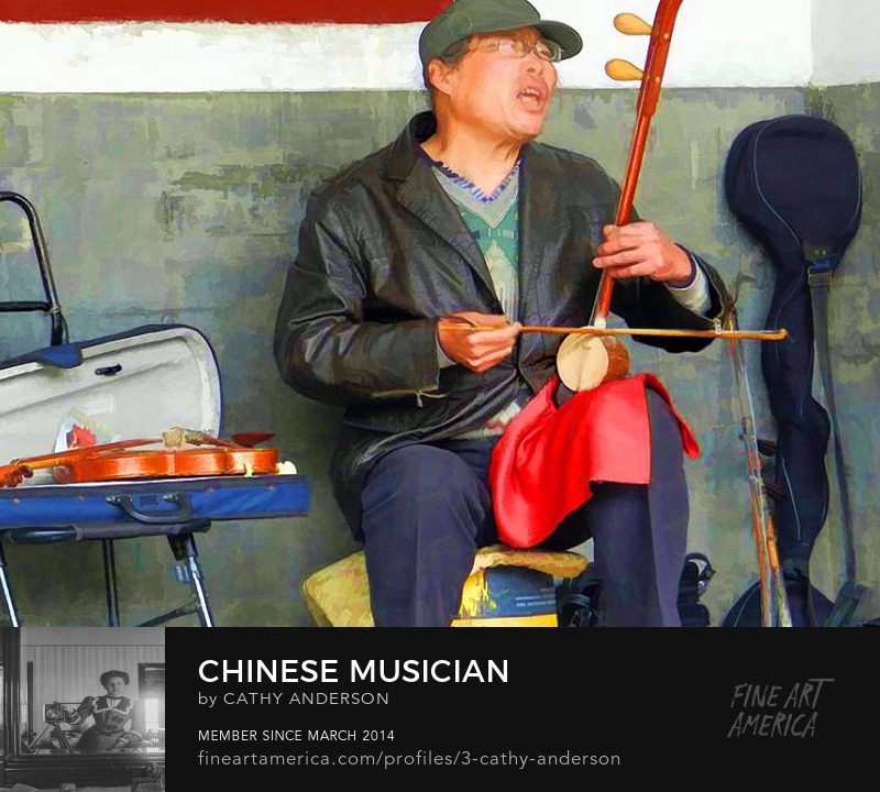 China, Chinese Musician