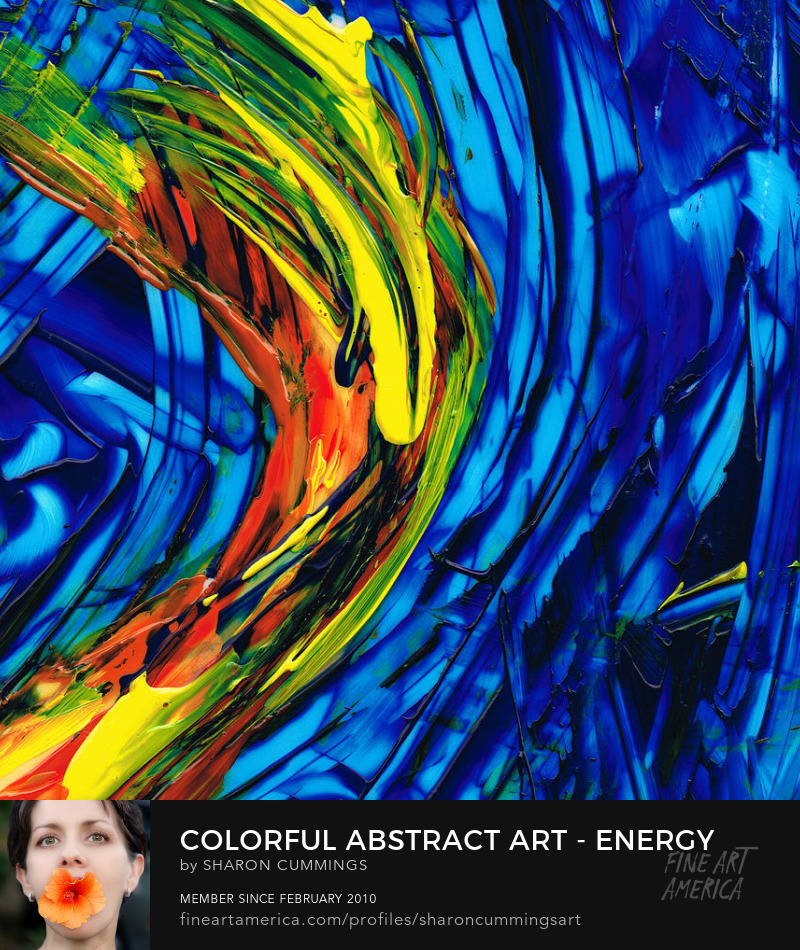 Colorful Modern Art For Sale