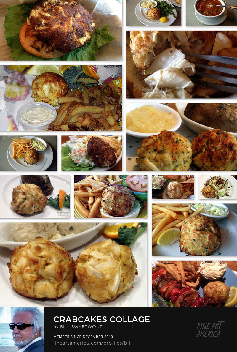 Crabcakes Collage