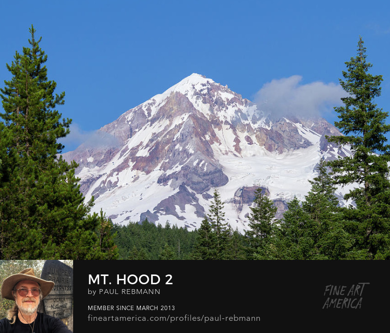 Purchase Mt. Hood #2 by Paul Rebmann