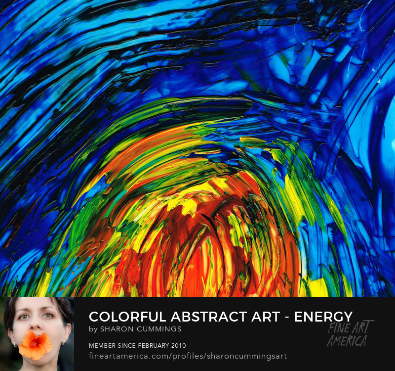 Colorful Art Prints Abstract Modern
