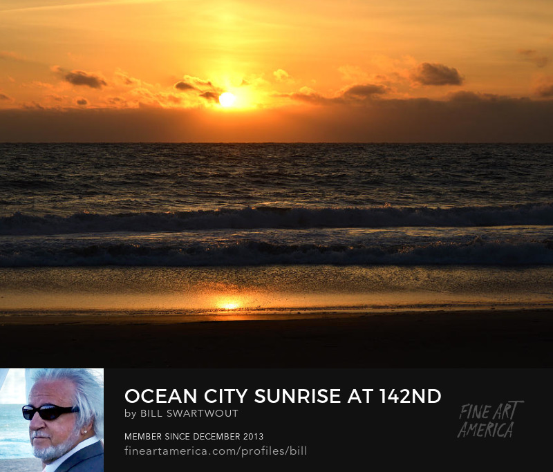 Ocean City Sunrise Art Prints
