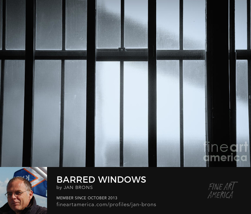 Barred windows - Art Prints