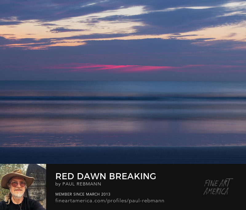 View online purchase options for Red Dawn Breaking by Paul Rebmann