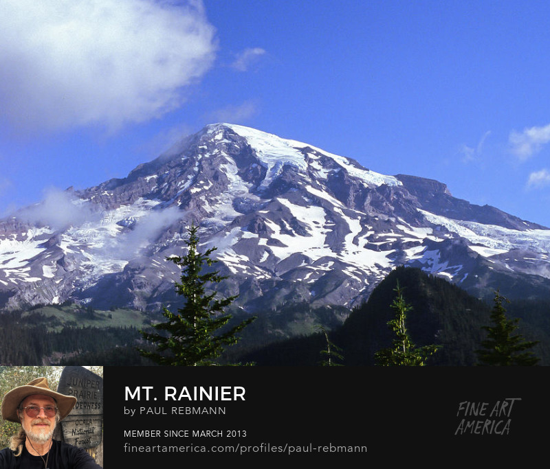 Mt. Rainier limited time sale