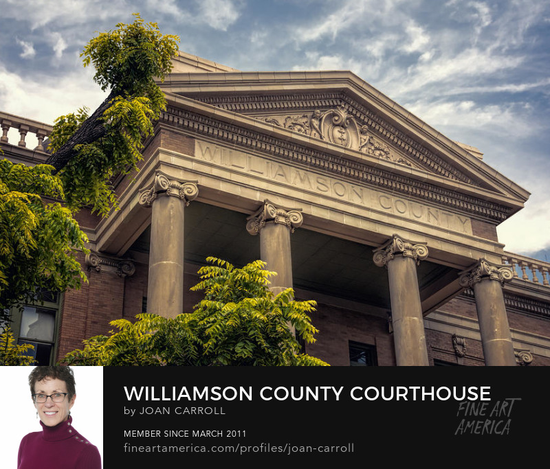 Williamson County Courthouse Joan Carroll Photography Digital Art