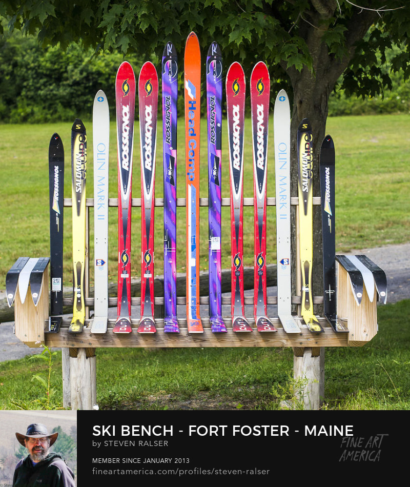 ski bench fort foster maine