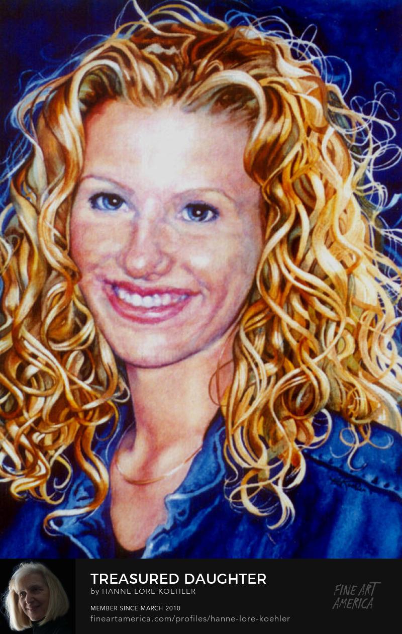 Portrait Painting And Canvas Art Prints