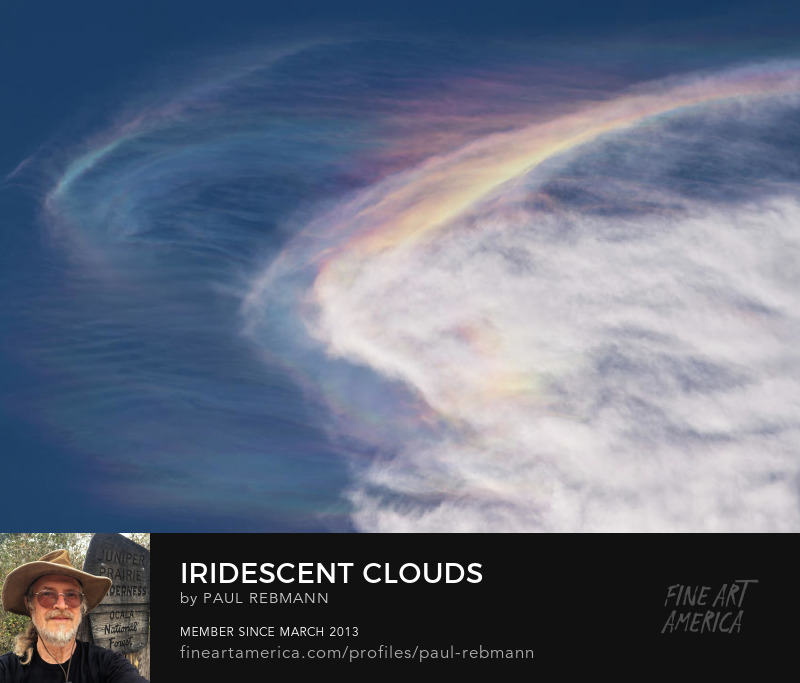 View online purchase options for Iridescent Clouds by Paul Rebmann