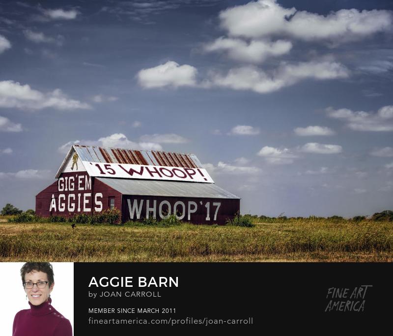 Aggie Barn Joan Carroll Photography Digital Art