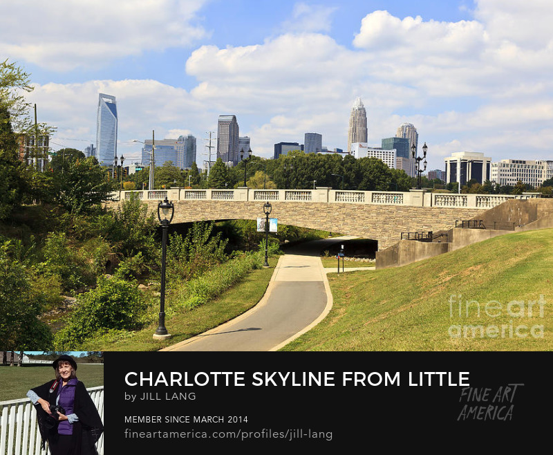 Charlotte Skyline from Pearl Park