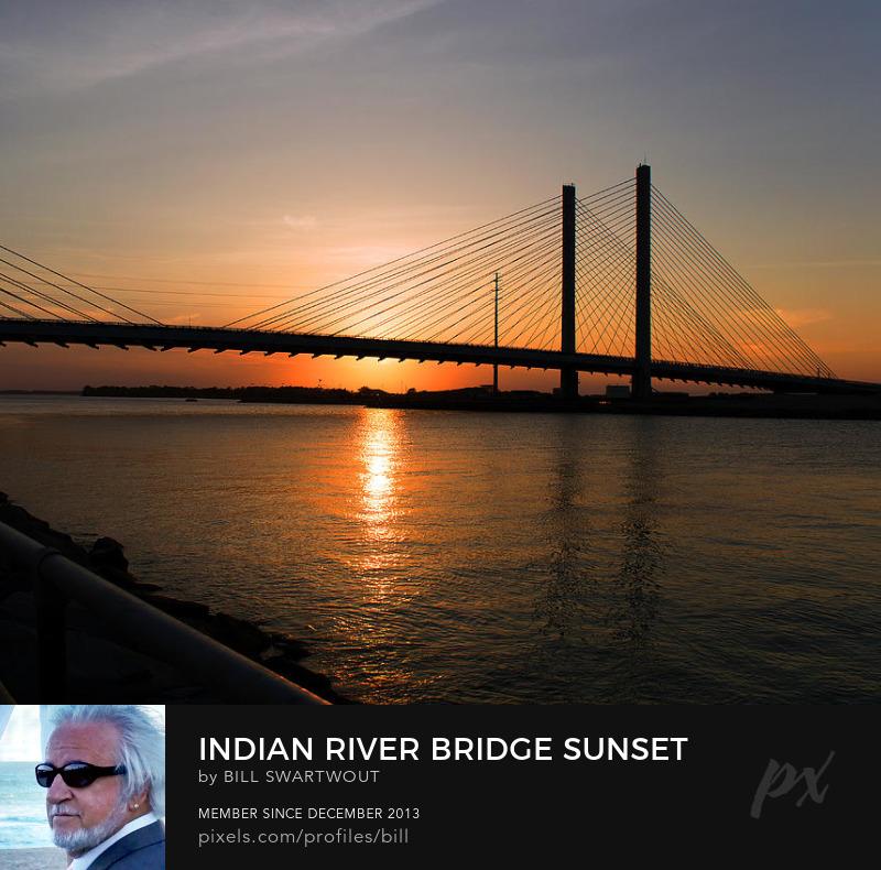 Indian River Bridge Photography Prints
