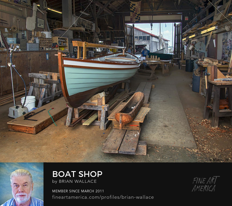 Boat Shop by Brian Wallace