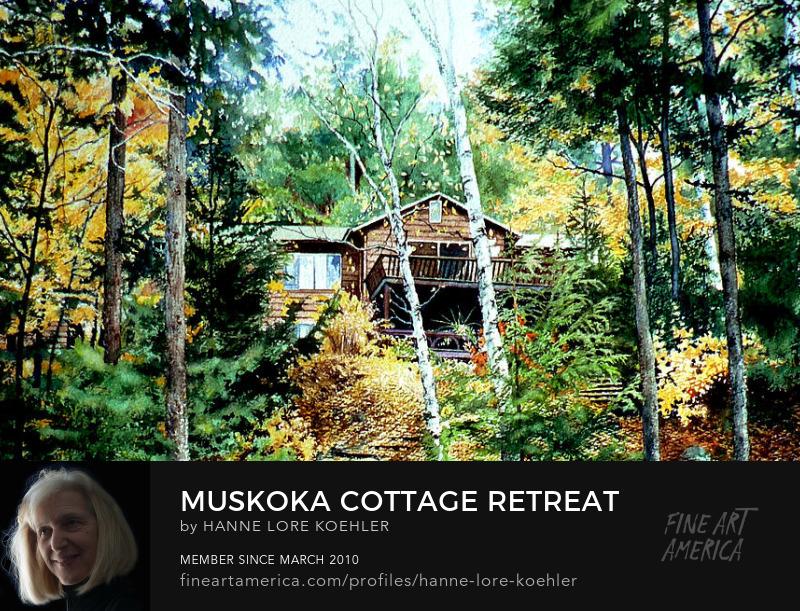 Commission A Cottage Portrait, Order Prints Online