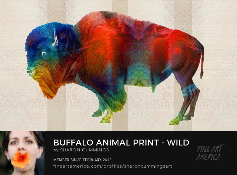 Buffalo Art Prints Midwest Paintings