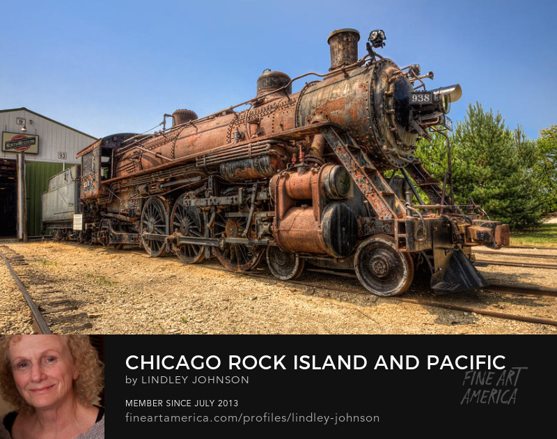 chicago rock island and pacific 938 by lindley johnson