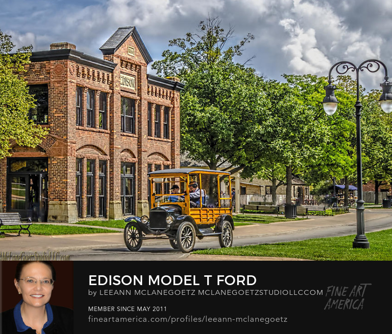 McLaneGoetzStudioLLC.com Edison Model T Ford Michigan