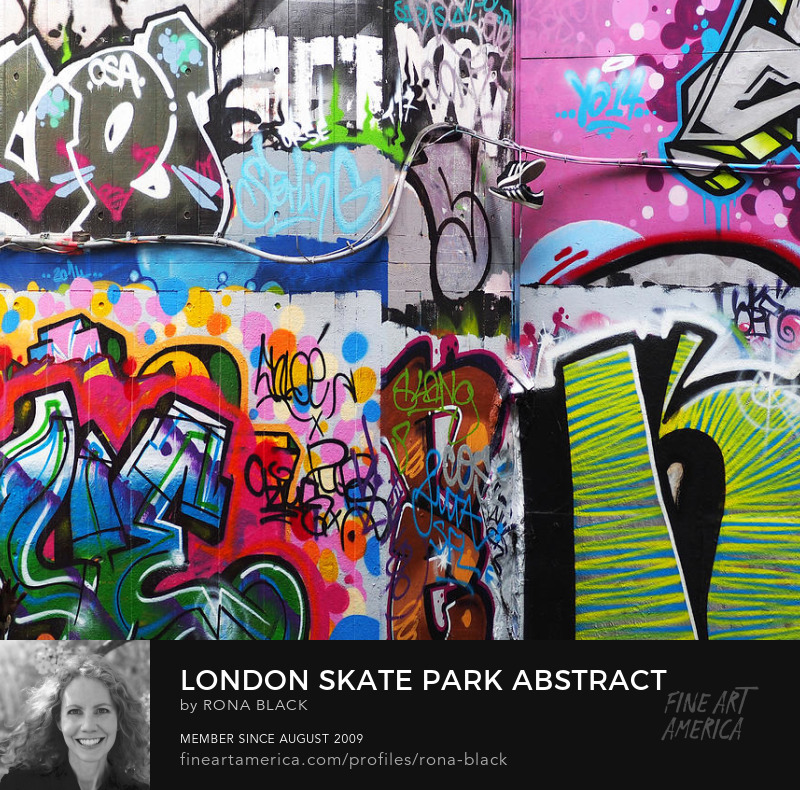 London Skate Park Abstract