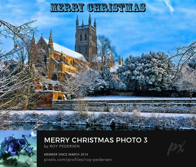 Christmas card by Roy Pedersen