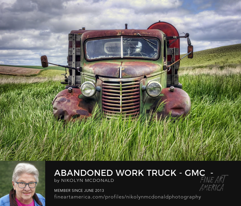 old chevy truck in field photo by Nikolyn McDonald