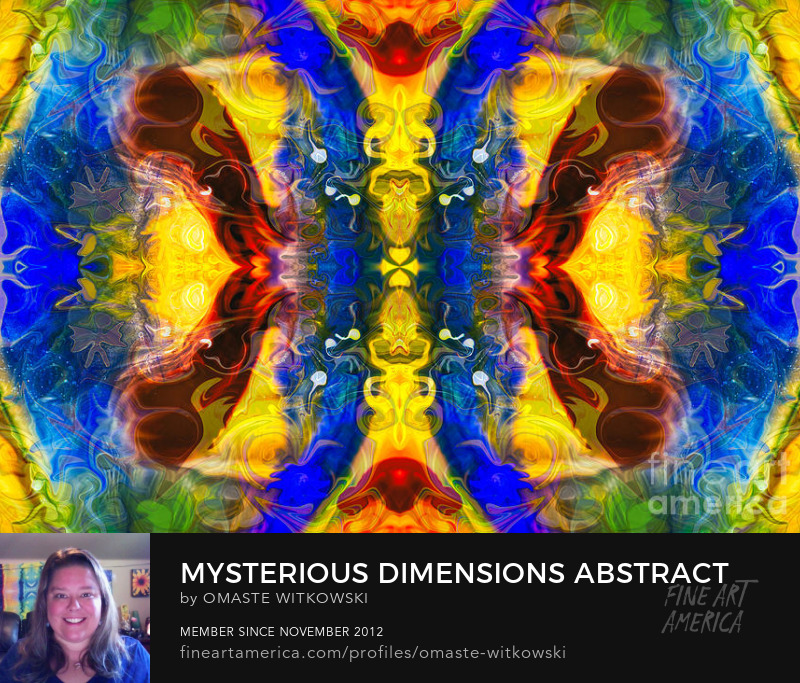 Mysterious Dimensions Abstract Pattern Artwork Abstract Designs Art Prints