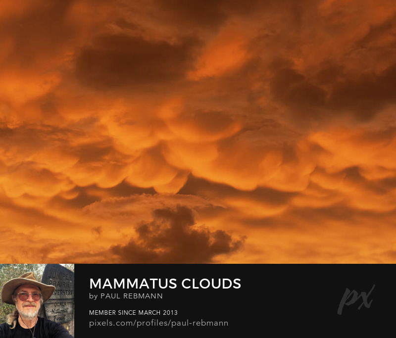 View online purchase options for Mammatus Clouds by Paul Rebmann