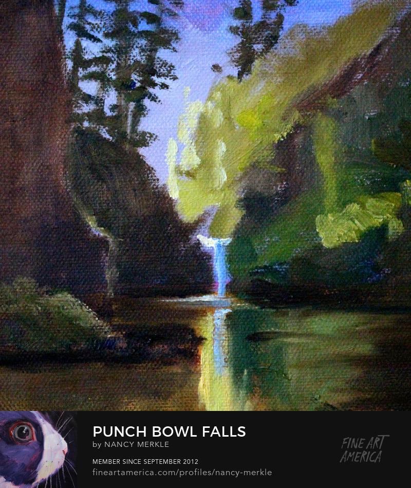 Oregon Landscape Painting