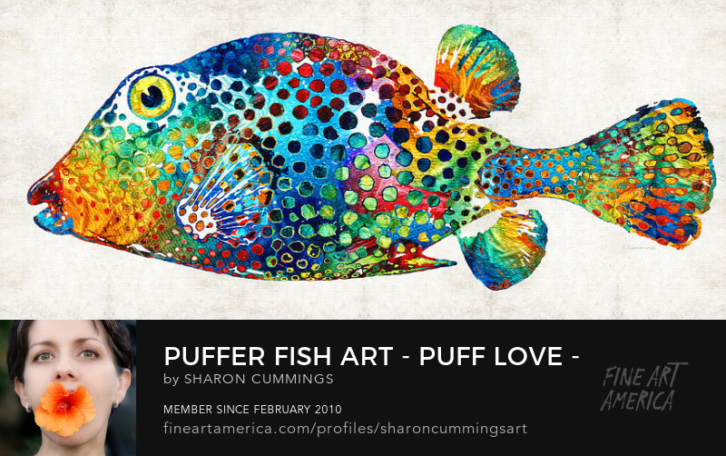 Colorful Tropical Fish Art Prints